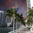 Stock Photo: Miami Beach Buildings and Colors, U.S.A.