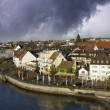 Stock Photo: Storm approaching Friedrichshafen in Germany