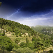 Sky over Tuscan Countryside in Casoli — Stock Photo