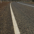 Road across Australian Outback — Stock Photo