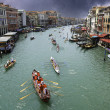 Stormy Sky over Venice Channel — Stock Photo