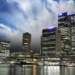 Stock Photo: Sunset over Brisbane Buildings