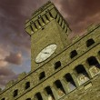 Stock Photo: Bottom-Up view of PiazzdellSignoriin Florence