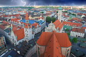 Storm approaching Munich, Germany — Stock Photo