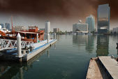 Storm approaching Dubai — Stock Photo