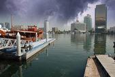 Stormy Sky over Dubai — Stock Photo