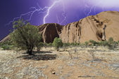 Stormy Sky in Australian Outback — Stock Photo
