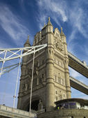 Architectural Detail of Tower Bridge — Stock Photo