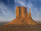 Clouds over Monument Valley — Stock fotografie