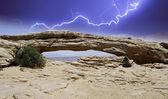 Naturen av arches national park — Stockfoto