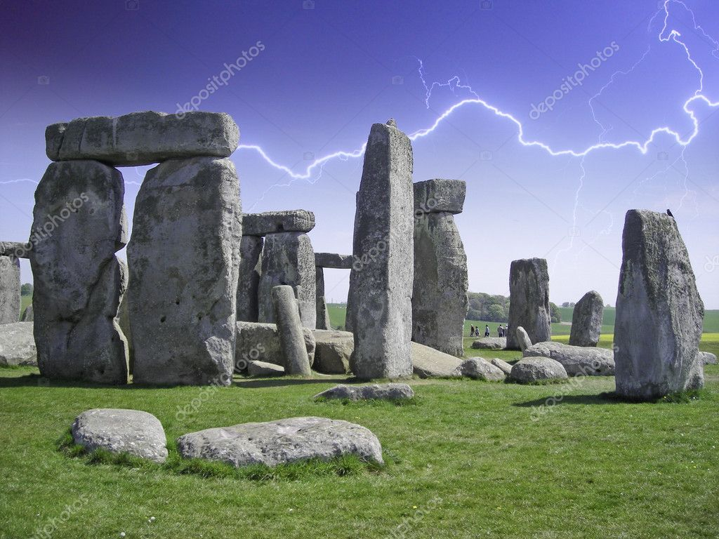 Stonehenge Rocks, United Kingdom — Stock Photo #6101952