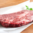 Rib-eye steak - Stock Photo