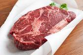 Rib-eye steak — Foto Stock