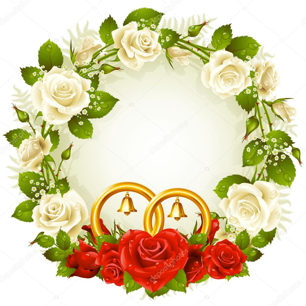 http://static6.depositphotos.com/1001150/656/v/950/depositphotos_6565707-Vector-frame-with-white-and-red-rose-and-golden-wedding-rings.jpg