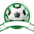 Royalty-Free Stock Vector: Soccer emblem