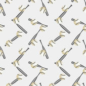 Baseball seamless pattern — Vettoriale Stock