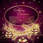 Fundo decorativo de Natal — Vetorial Stock