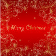 Modern xmas abstract background — Stock Vector #5577600
