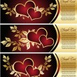 Vettoriale Stock : Set with Valentines design elements