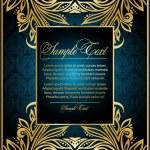 Vintage blue background — Stock Vector #5578500