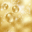 Xmas greeting card - Image vectorielle