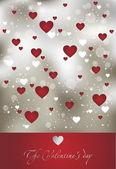 Valentine art background — Stock Vector