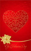 Valentine's day illustration — Vector de stock