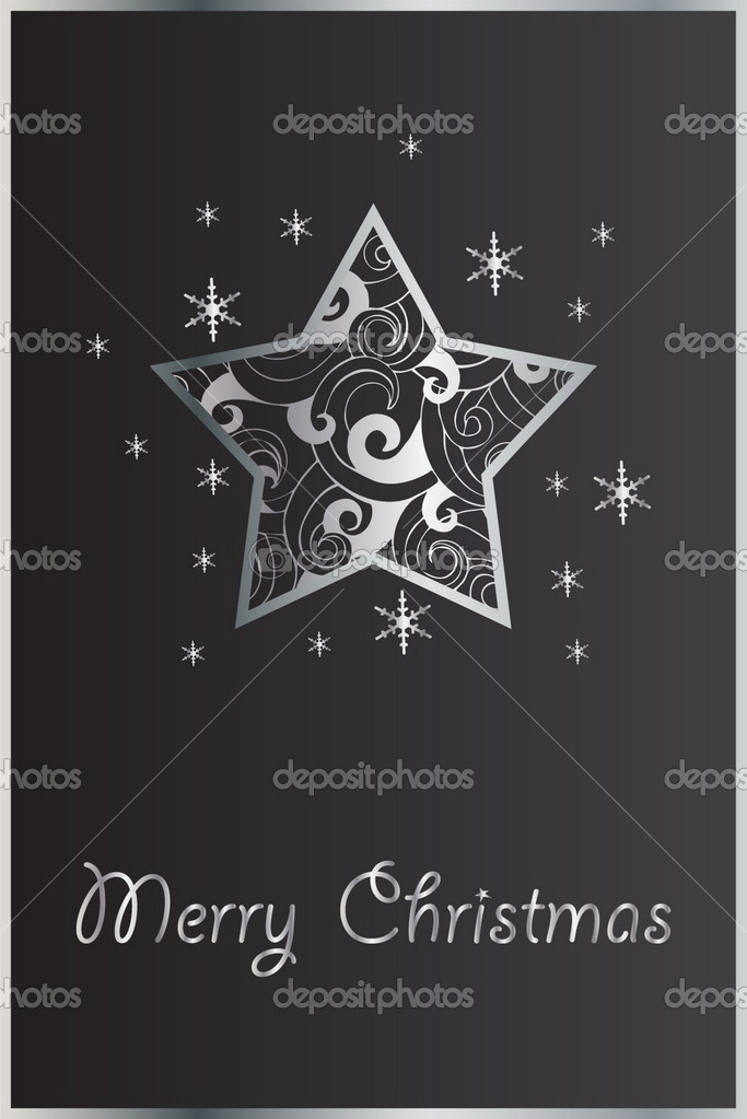 Christmas vector star — Stock Vector #5577130