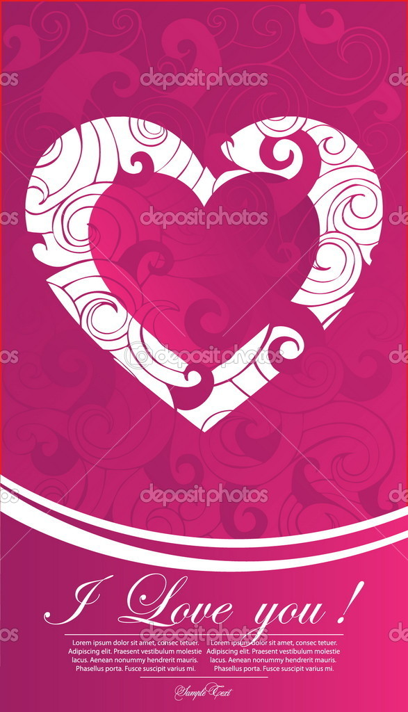 Valentine illustration — Stock Vector #5577993