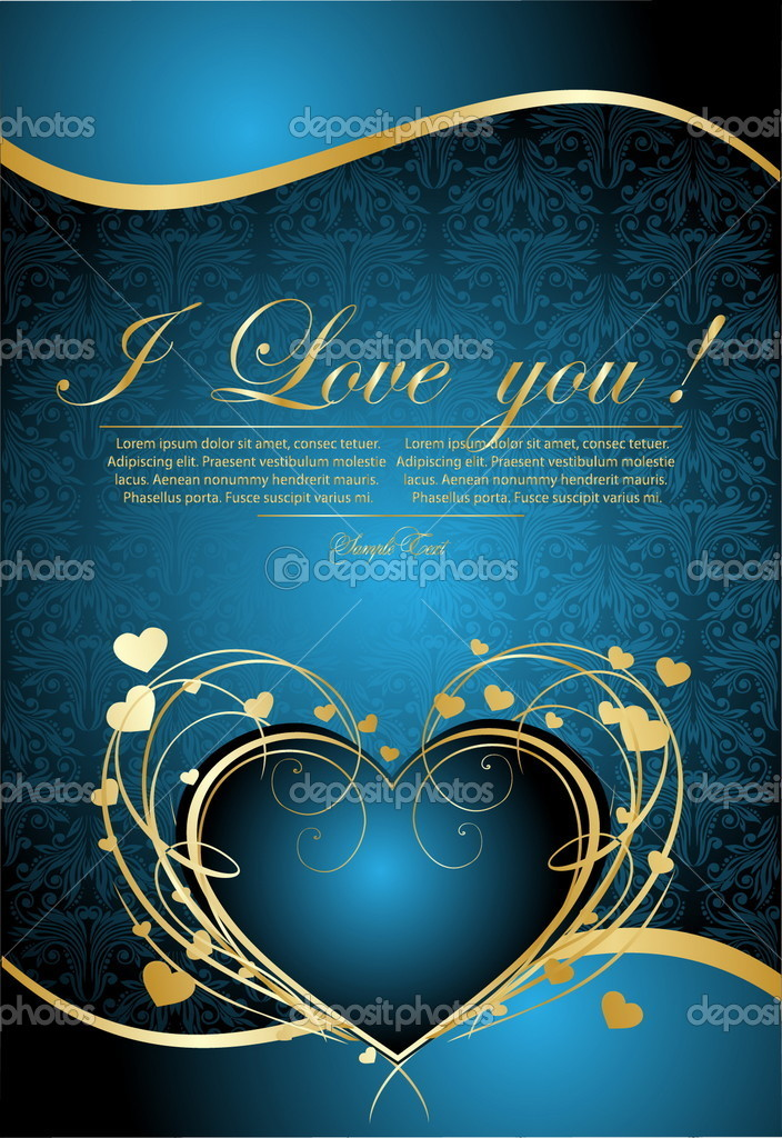 Vector Valentine's Day card — Stock Vector #5578395