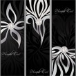 Decorative floral background — Imagen vectorial