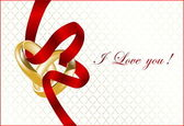Valentines vector background — Stock Vector