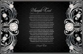 Antique black background — Stockvektor