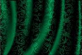 Grüne luxus-hintergrund — Stockvektor