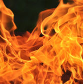Fire background — Stockfoto