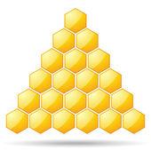Logotipo de la célula — Vector de stock