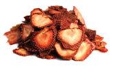 Erdbeere trockenfrüchte — Stockfoto