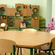 Furniture in kindergarten, preschool classroom — Stock Photo