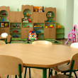 Furniture in kindergarten, preschool classroom — Foto de Stock