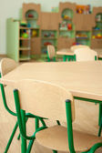 Interior of the kindergarten, preschool classroom — Stock Photo