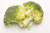 Fresh broccoli florets — Stock Photo