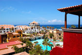 Building and recreation area of luxury hotel, Tenerife island, S — Stock Photo
