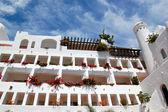 Building of luxury hotel, Tenerife island, Spain — Stock Photo