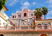 Villa at the luxury hotel, Tenerife island, Spain — Stock Photo