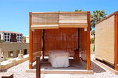 SPA massage hut at luxury hotel, Tenerife island, Spain — Stock Photo