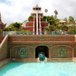 Stock Photo: Tower of Power water attraction in Siam waterpark, Tenerife, Spain