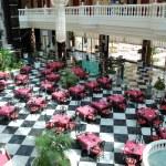 Restaurant's interior at the luxury hotel, Tenerife island, Spai — Stock Photo #6425136