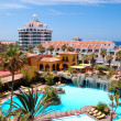 Building and recreation area of luxury hotel, Tenerife island, S - Lizenzfreies Foto