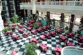 Restaurant's interior at the luxury hotel, Tenerife island, Spai — Foto de Stock