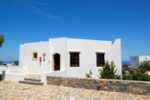 Holiday villa at the luxury hotel, Crete, Greece — Stock Photo